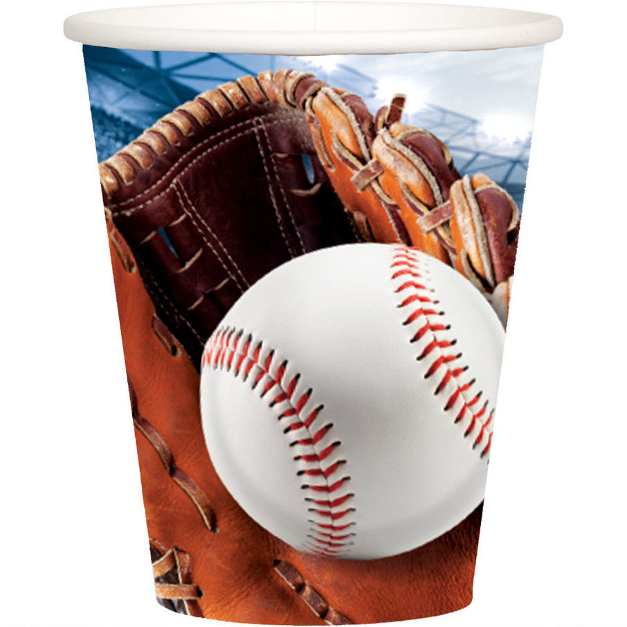 View larger image of Baseball 9oz Cups (8)