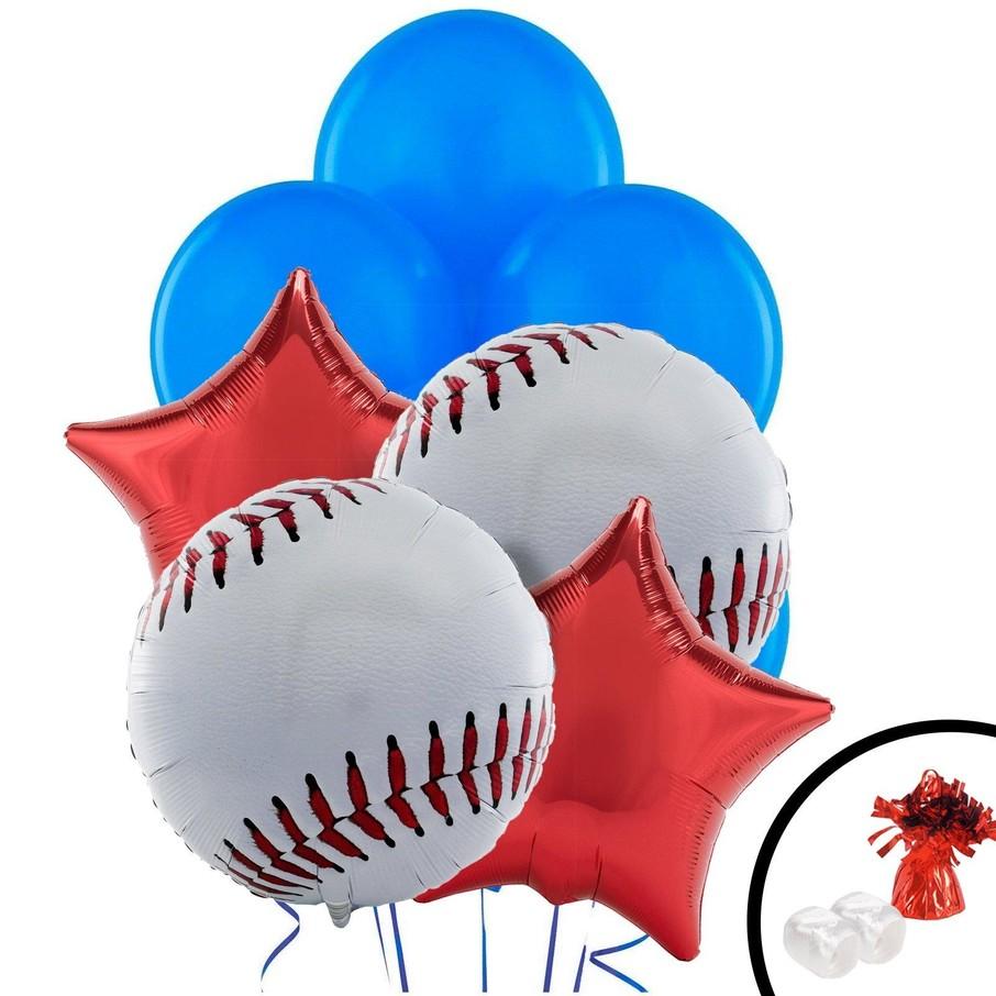 View larger image of Baseball Balloon Bouquet