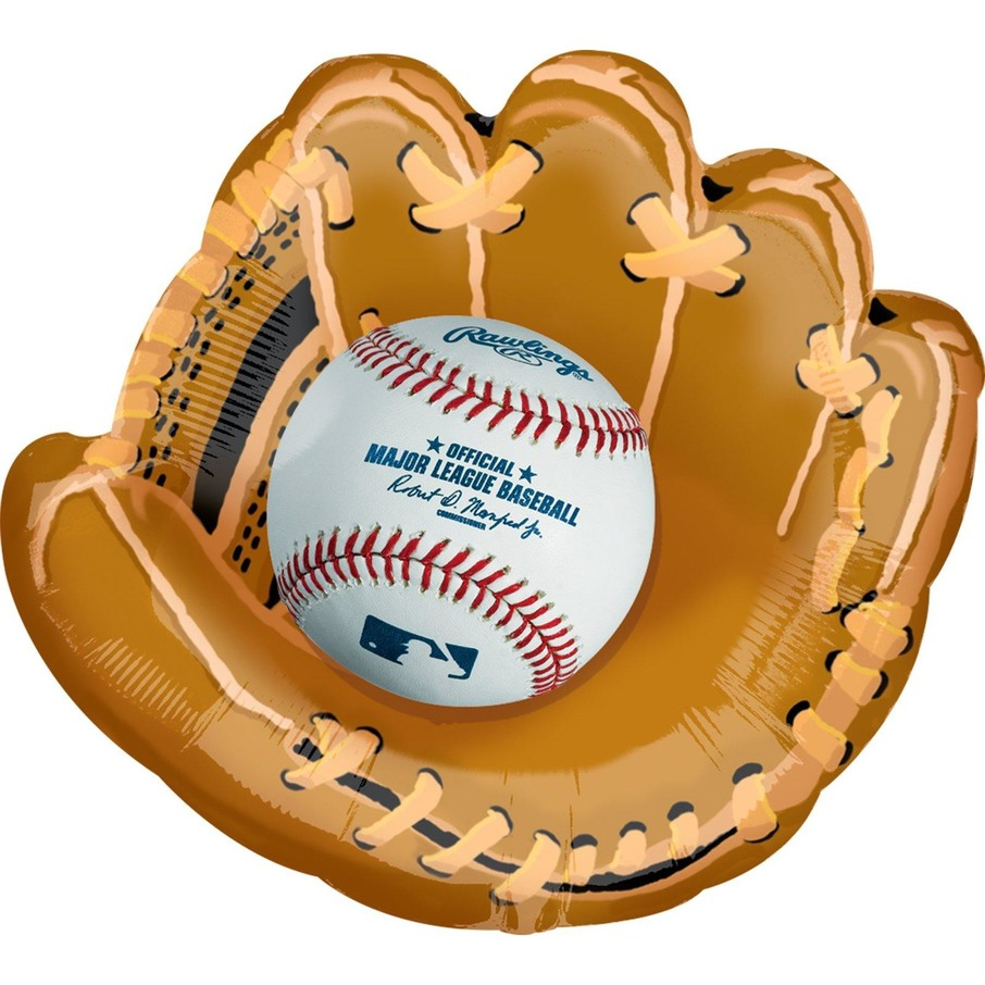 View larger image of Baseball Jumbo Foil Balloon