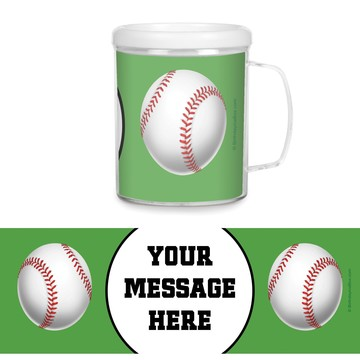 Baseball Party Personalized Favor Mugs (Each)