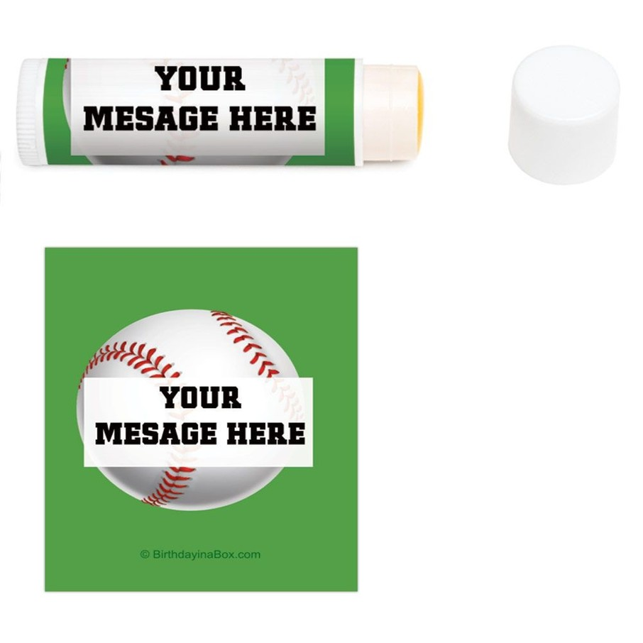 View larger image of Baseball Party Personalized Lip Balm (12 Pack)