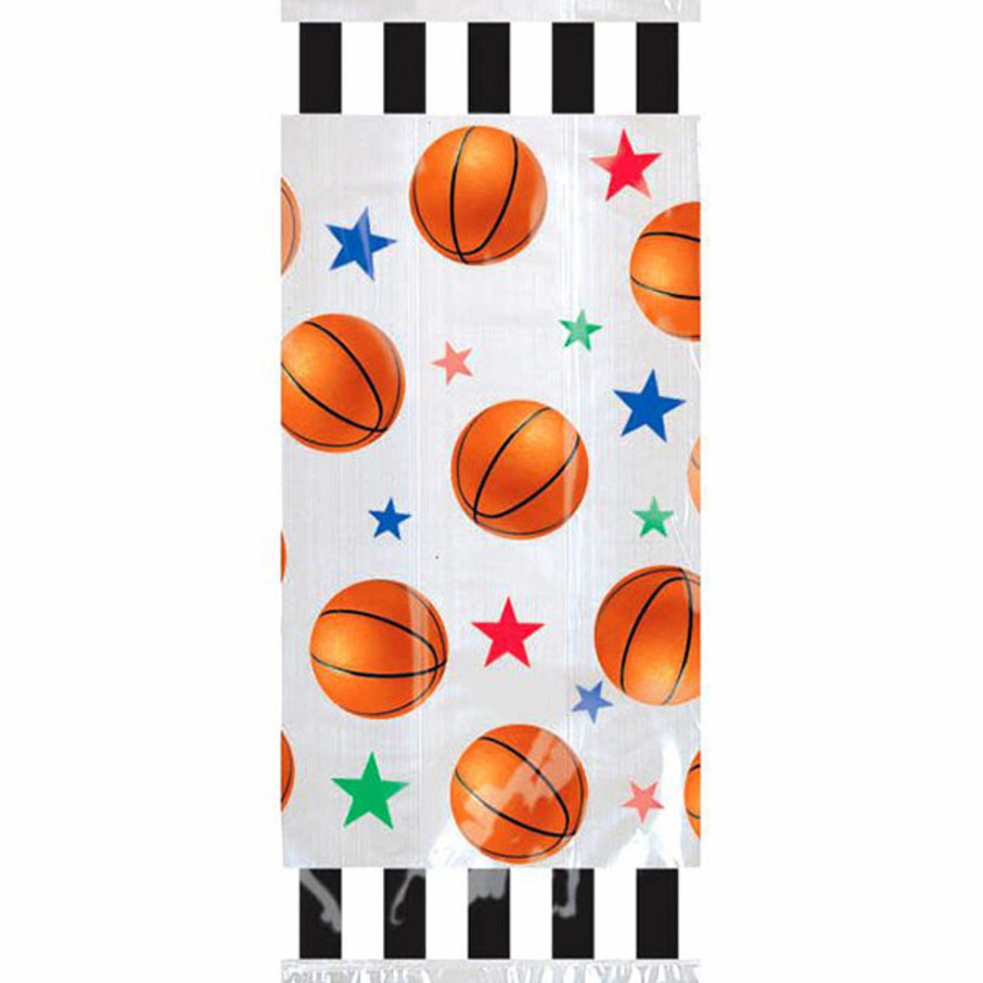 View larger image of Basketball Party Favor Bags (20 Pack)