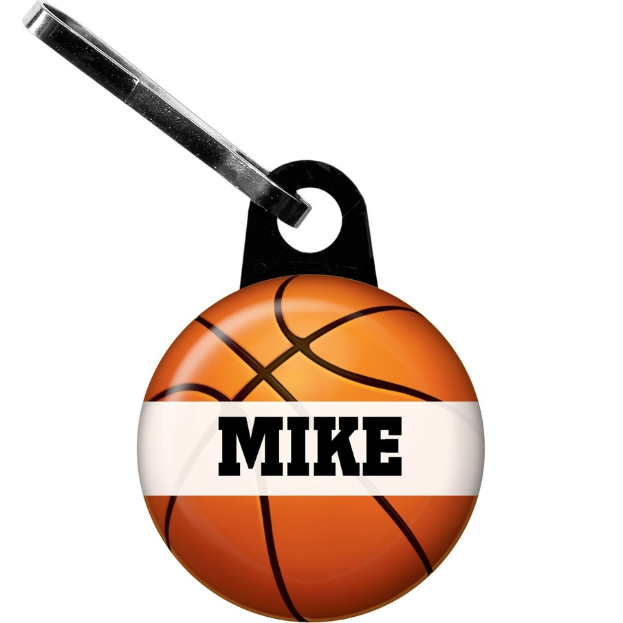 View larger image of Basketball Party Personalized Zipper Pull (each)