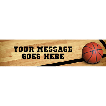 Basketball Personalized Banner (Each)
