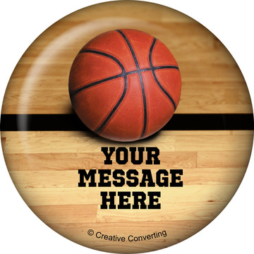 Basketball Personalized Magnet (Each)