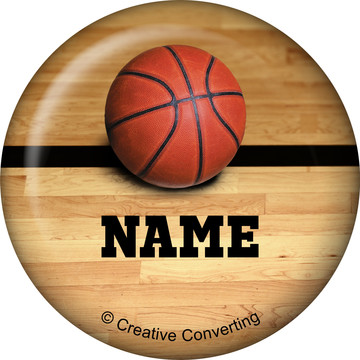 Basketball Personalized Mini Magnet (Each)