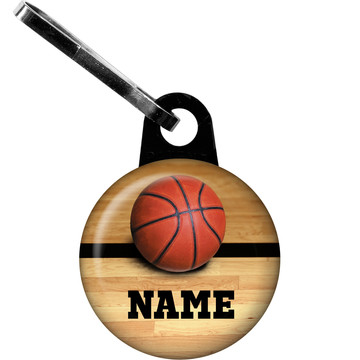 Basketball Personalized Zipper Pull (Each)