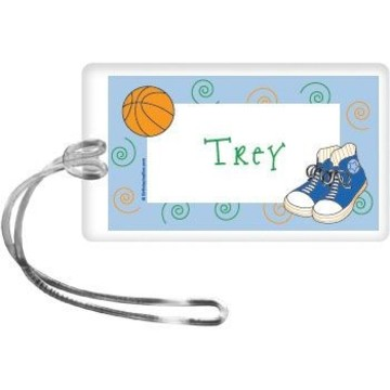 Basketball Star Personalized Bag Tag (each)