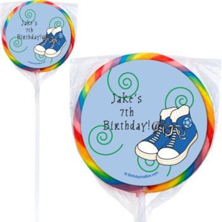 View larger image of Basketball Star Personalized Lollipops (pack of 12)