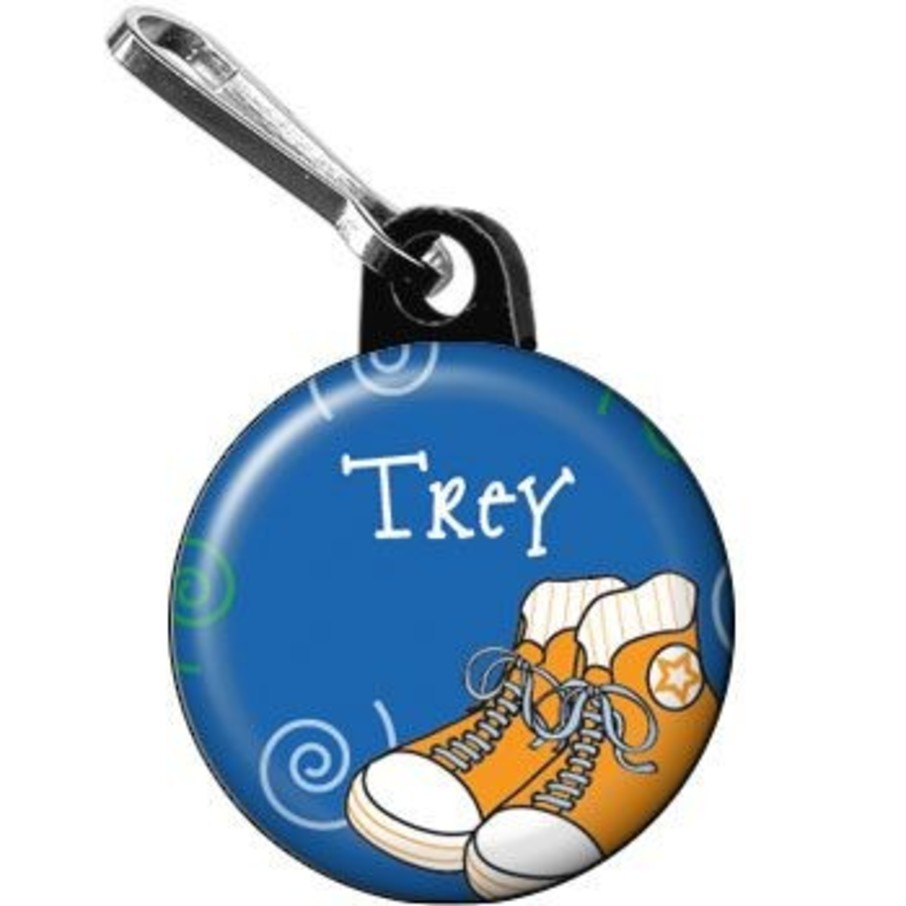 View larger image of Basketball Star Personalized Mini Zipper Pull (each)