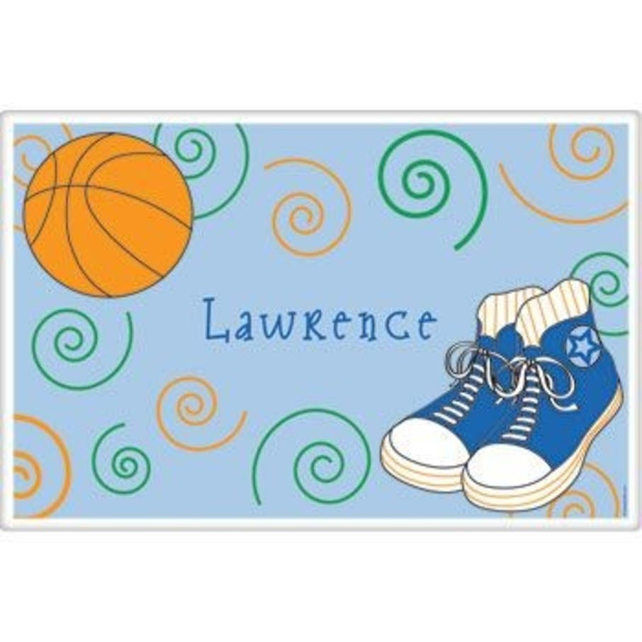 View larger image of Basketball Star Personalized Placemat (each)