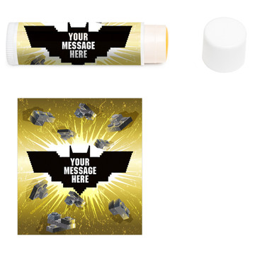 Bat Blocks Personalized Lip Balm (12 Pack)