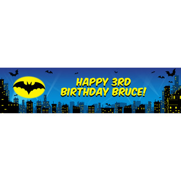 Bat Personalized Banner (Each)