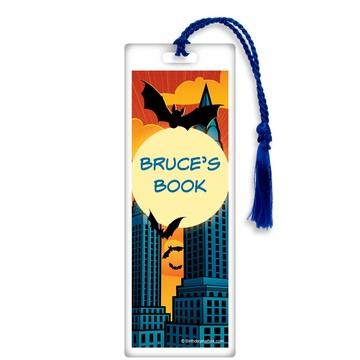 Bat Personalized Bookmark (each)