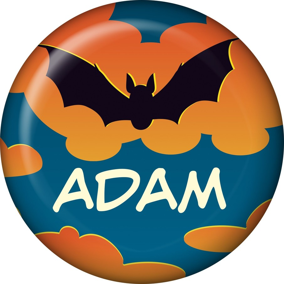 View larger image of Bat Personalized Mini Magnet (each)