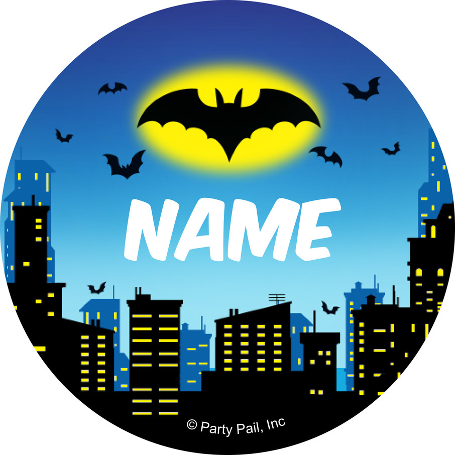 View larger image of Bat Personalized Mini Stickers (Sheet of 24)