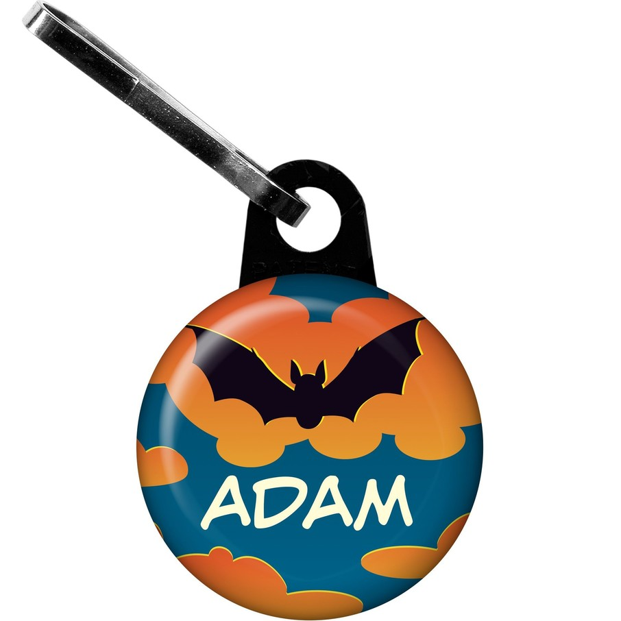 View larger image of Bat Personalized Mini Zipper Pull (each)
