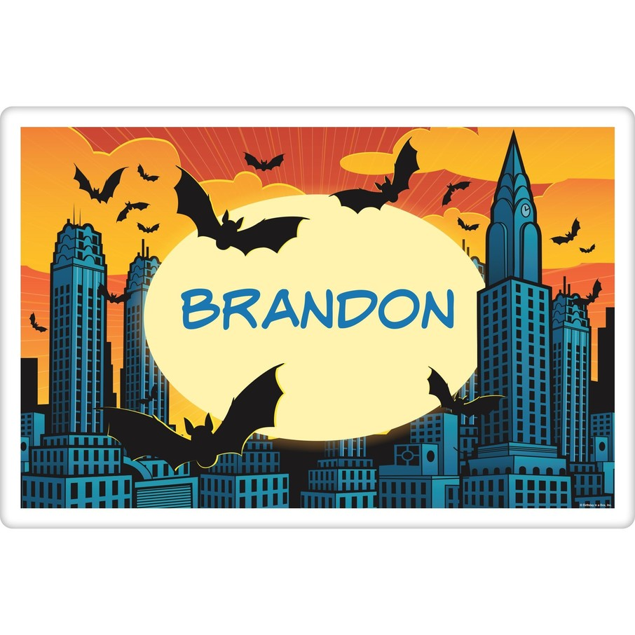 View larger image of Bat Personalized Placemat (each)