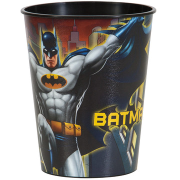 Batman 16oz Plastic Favor Cup (Each)
