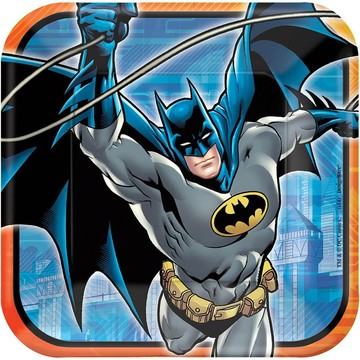 "Batman 9"" Luncheon Plates (8 Pack)"