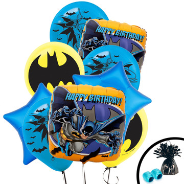 Batman Balloon Bouquet Kit