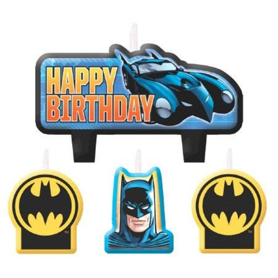 View larger image of Batman Birthday Candle Set (4 Pack)