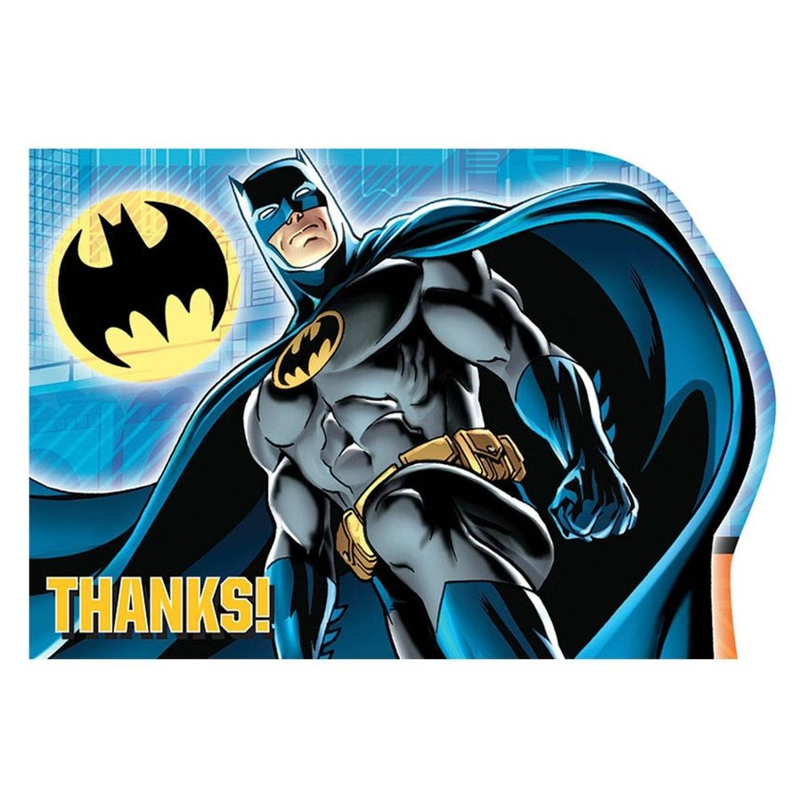 View larger image of Batman Postcard Thank You Cards (8 Pack)