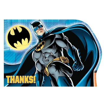 Batman Postcard Thank You Cards (8 Pack)