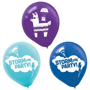 Battle Royal Printed Latex Balloons (6ct)