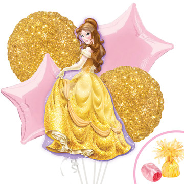 Beauty and the Beast Belle Balloon Bouquet Kit