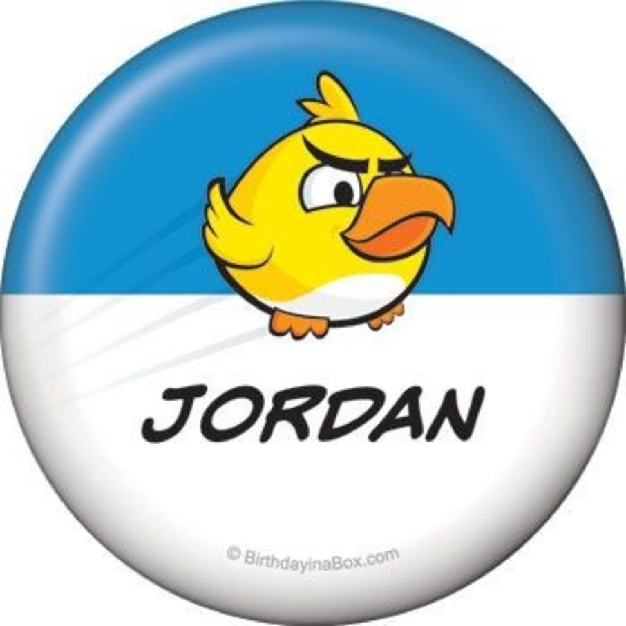 View larger image of Birds Personalized Button (each)