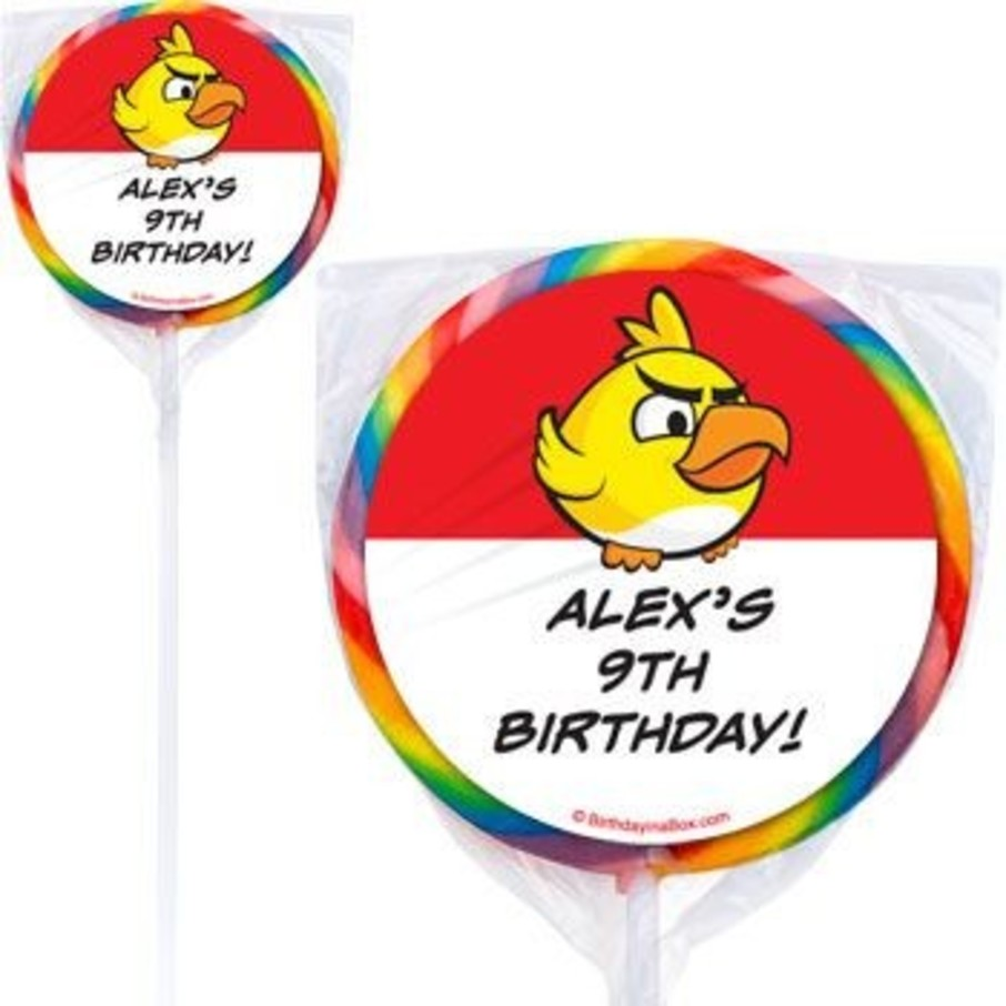 View larger image of Birds Personalized Lollipops (pack of 12)