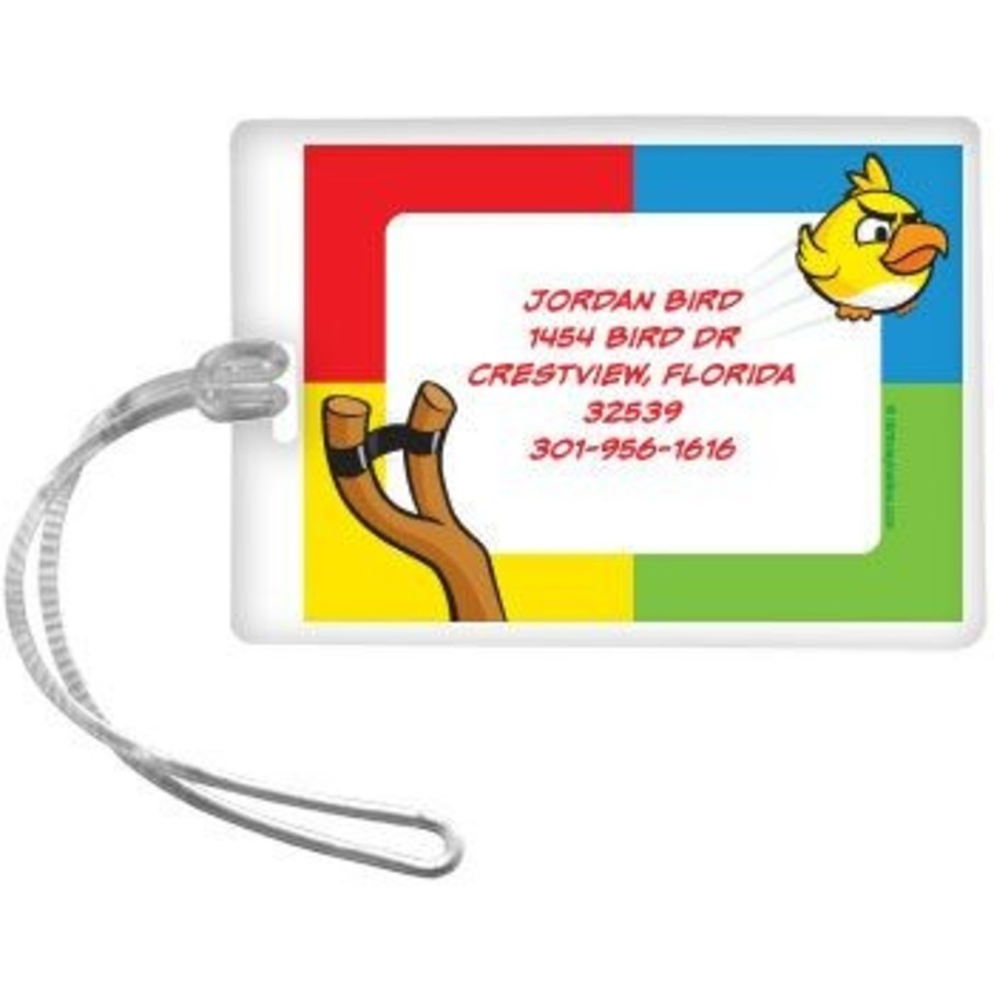View larger image of Birds Personalized Luggage Tag (each)