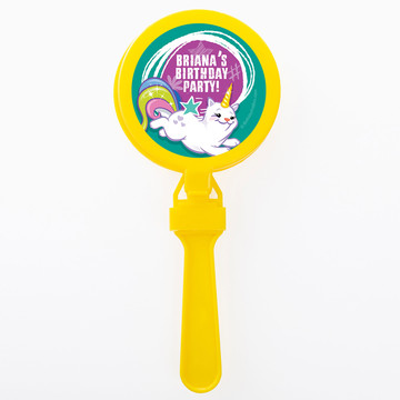 Birthday Celebration Personalized Clappers (Set of 12)