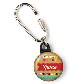 """Birthday Craft Personalized 1"""" Carabiner (Each)"""