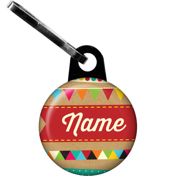 Birthday Craft Personalized Zipper Pull (Each)