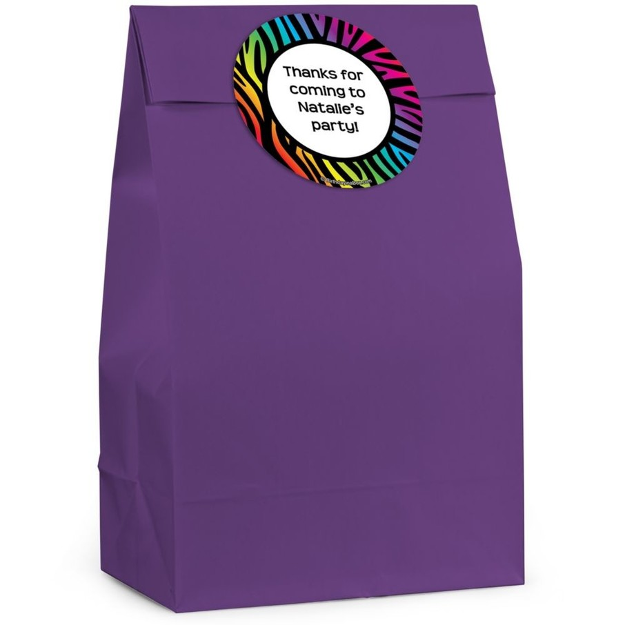 View larger image of Birthday Doodle Personalized Favor Bag (Set Of 12)