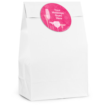 Birthday Fabulous Personalized Favor Bag (12 Pack)