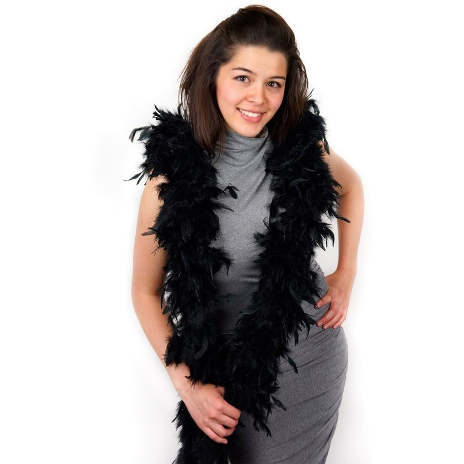View larger image of Black Deluxe Boa