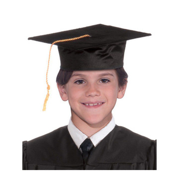 Black Graduation Child Cap