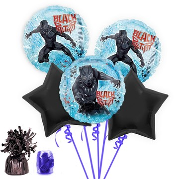 Black Panther Balloon Bouquet Kit