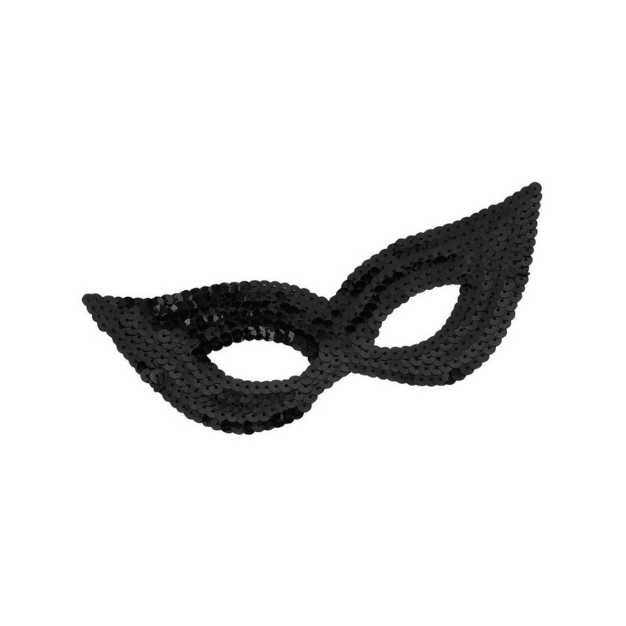 View larger image of Black Sequin Eye Mask