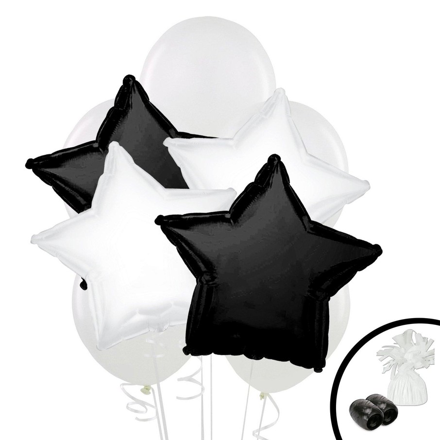View larger image of Black White Balloon Bouquet