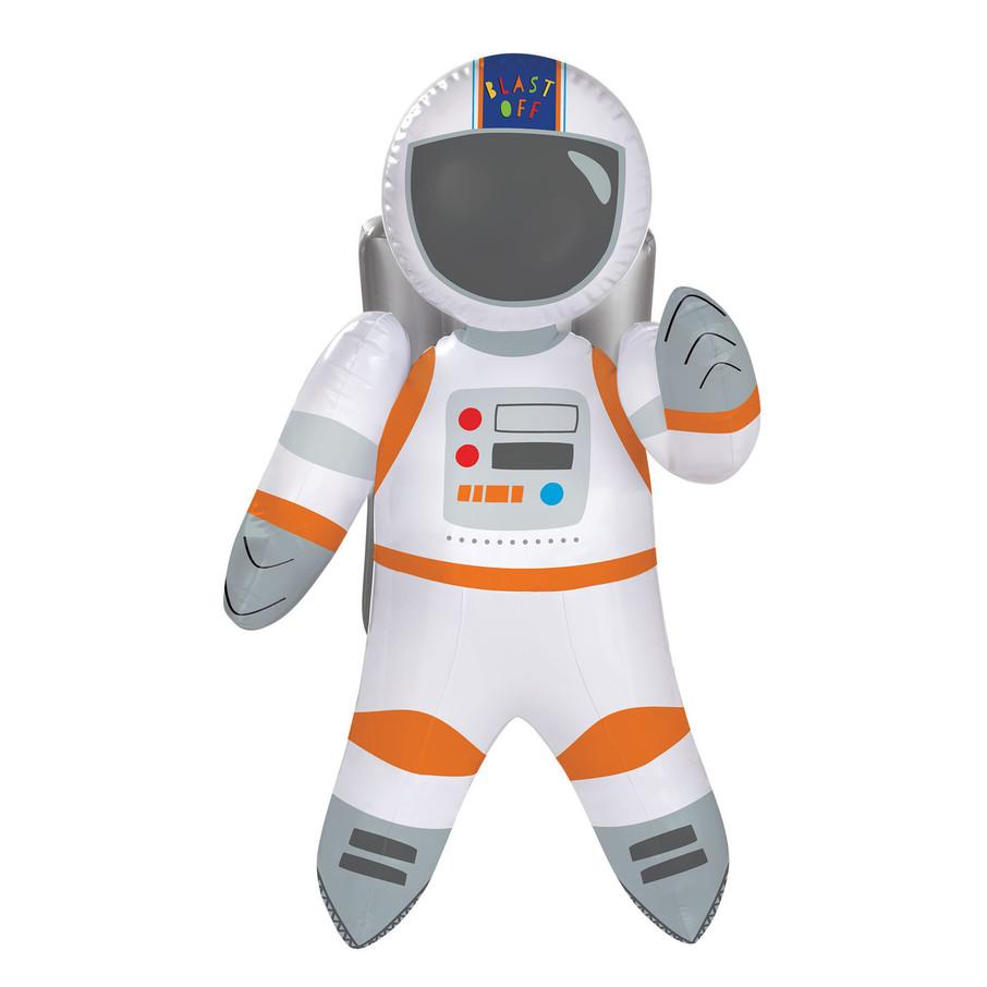 View larger image of Blast Off Birthday Inflatable Astronaut