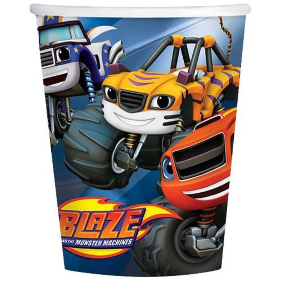 View larger image of Blaze and the Monster Machines 9oz Cups (8 Count)