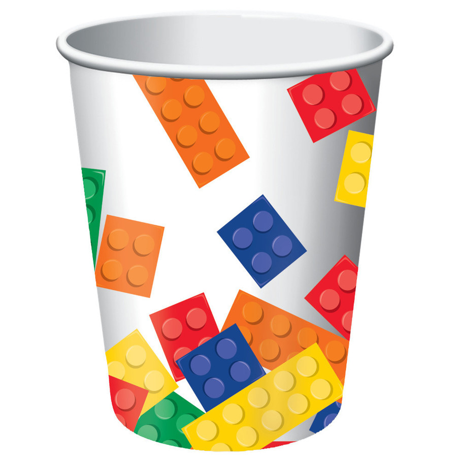 View larger image of Block Party 9 oz Cups (8 Count)