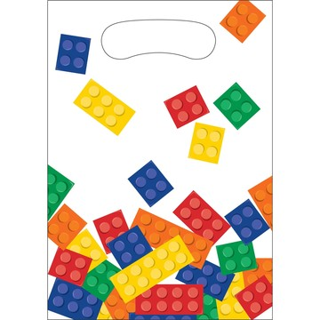 Block Party Favor Bags (8 Pack)