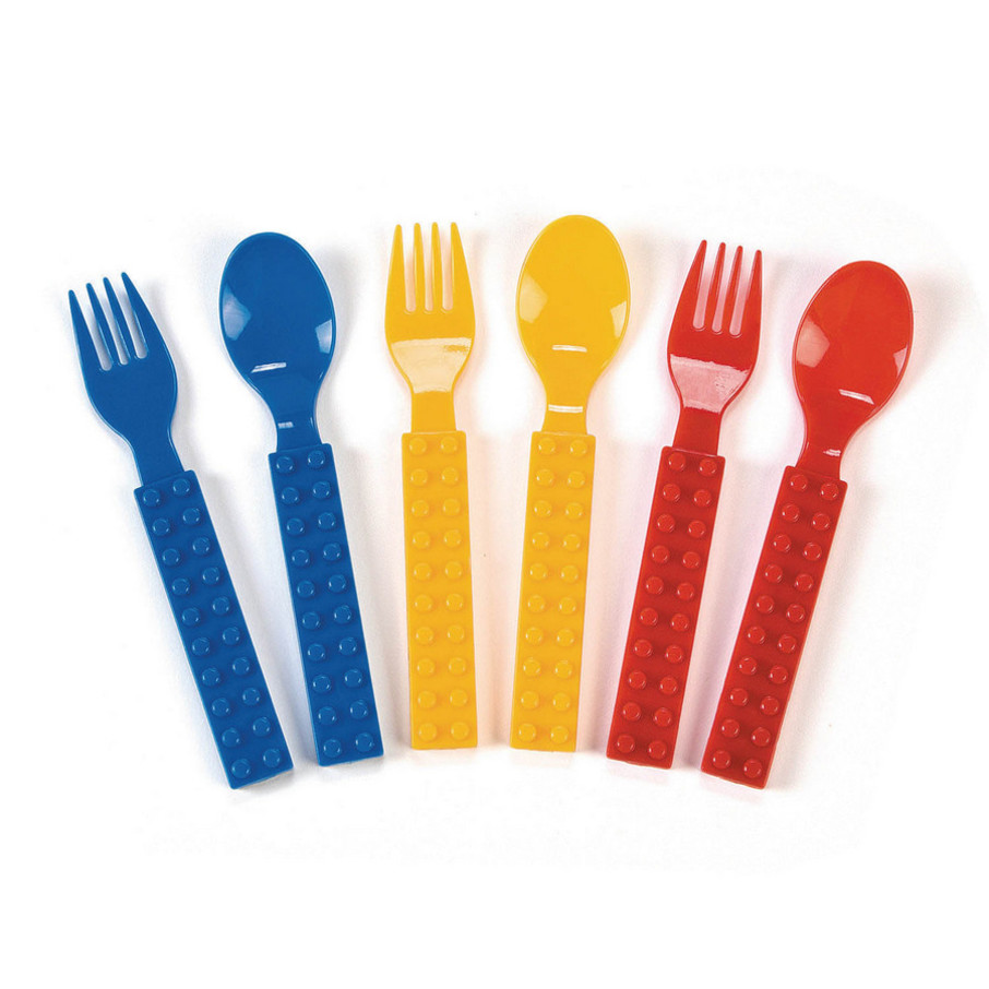 View larger image of Block Party Fork & Spoon Set (16)