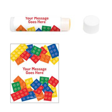 Block Party Personalized Lip Balm (12 Pack)