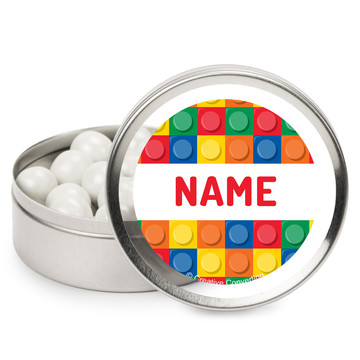 Block Party Personalized Mint Tins (12 Pack)